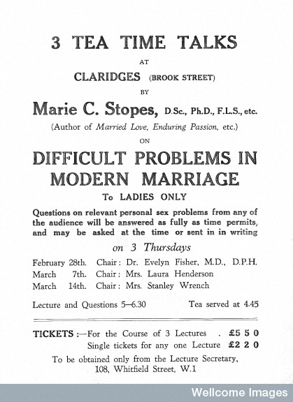 L0030238 'Difficult problems in Modern Marriage'.
